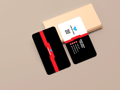 Black business card design graphic mp creative business card creative design company logo logodesign business card design photoshop graphic design
