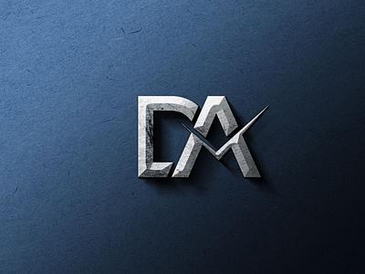 DA Logo Design logo designer mp unique logo design creative logo branding abode illustrator company logo logo graphic design logodesign