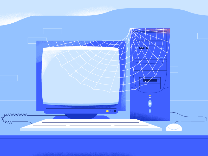 Old Computer :) by Veronika Vieyra on Dribbble