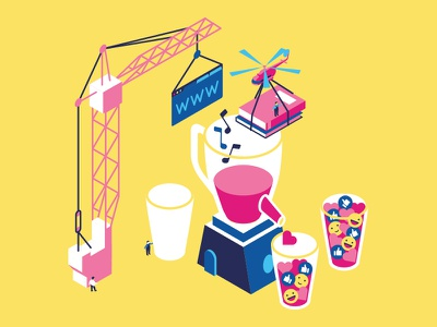 Building isometric design design bank raiffeisen graphic illustration