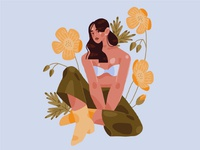 Spring girl 2