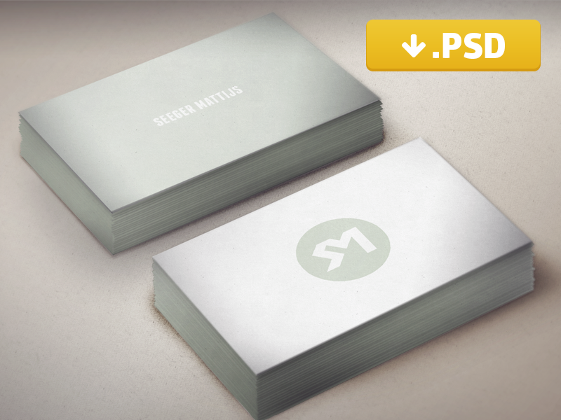 Business Card Mockup Freebie business card freebie mockup psd