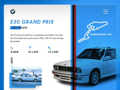 E30 Grand Prix ui clean
