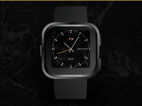 Fitbit clockface