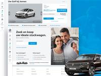 Volkswagen Online Stock Platform