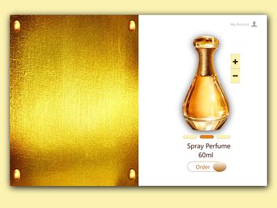 Perfume 2 ux branding design