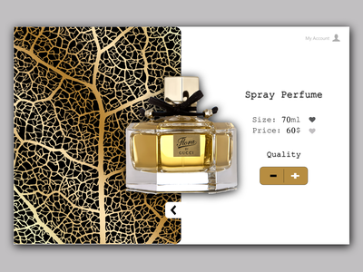 Perfume 3 ux branding design