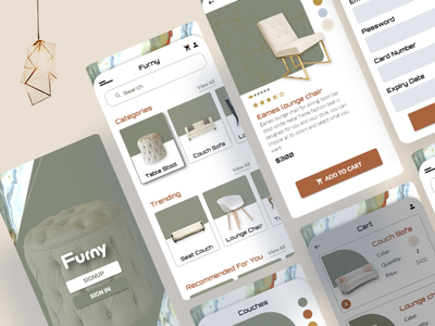 Furniture App adobexd ui design ui app ux design