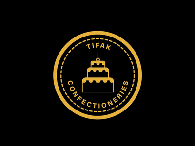 logo for tifak confectioneries