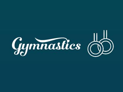 In Progress Gymnastics Line Icon