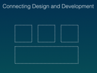 Keynote Title Slide: Component Libraries