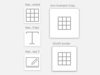 Cross-System Icon Sizing