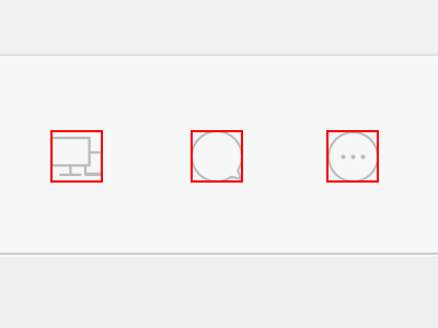 Icon Alignment 24 grid svg artboards dimensions set icon pixels retina line icons process sketch