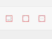 Icon Alignment