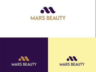 Mars Beauty logo branding illustrator beauty salon logo beauty logo beauty graphic design flat design