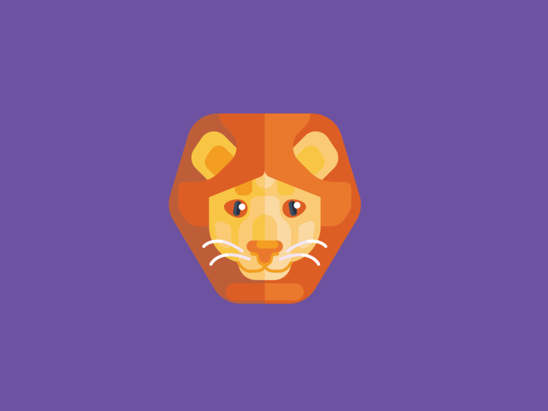Animal Avatar lion king lion head vectors icons design avatar animal avatar lion avatar lion