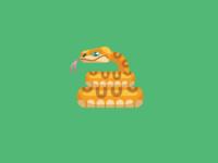 Snake Animal Avatar Icon ux illustration ui design vector flat icons icons snake avatar snake logo snake