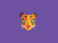 Animal Avatar iconography icon design flat icon icon leopart avatar leopard logo leopard