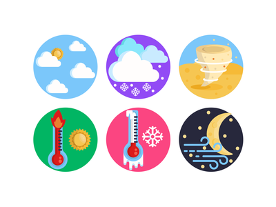 Weather Icons tornado moon weather forecast weather icon weather app weather illustration icons pack icon coloured icons vectors vector icons flat icons