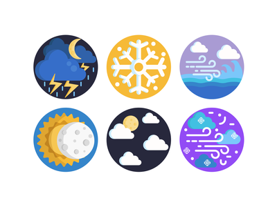 Weather Icons weather icon weather forecast weather app cloud icon icons pack coloured icons vectors vector icons flat icons