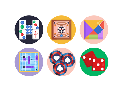 Board Games Icons chessboard chess gaming board games illustration icons pack icon coloured icons vectors vector icons flat icons