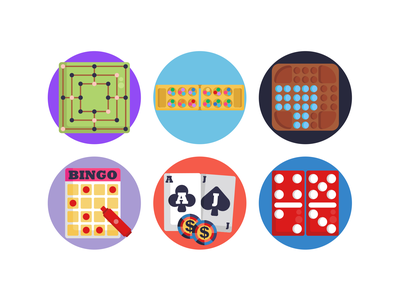 Board Games Icons poker dice cards chess board games games icons pack icon coloured icons vectors vector icons flat icons
