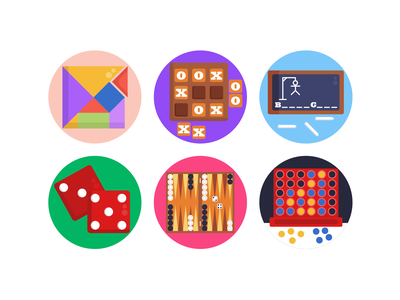 Board Games Icons gaming website gaming app gaming board games illustration icons pack icon coloured icons vectors vector icons flat icons