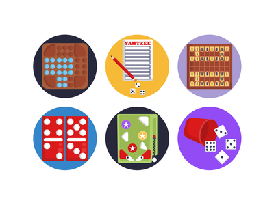 Board Games Icons gaming website board game art dice gaming board game icons pack icon coloured icons vectors vector icons flat icons