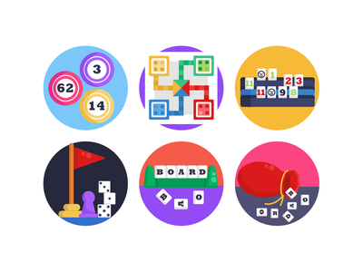 Board Games Icons gaming app gaming pool board game scrabble illustration icons pack icon coloured icons vectors vector icons flat icons