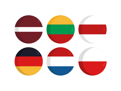Country Flags Icons flags country nationality coloured icons vectors vector icons flat icons