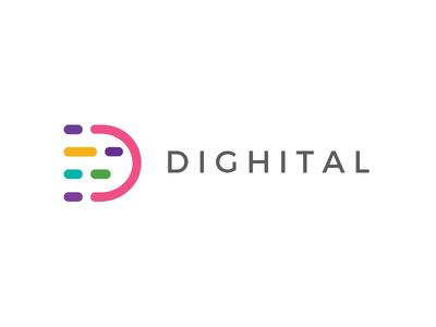 Dighital New Logo Design