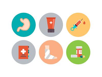 Wip Medical Icons icon design icons design medical flat icons flat icons hospital icons health icons medicine icons medical icons red cross icon nurse icon microscope icon