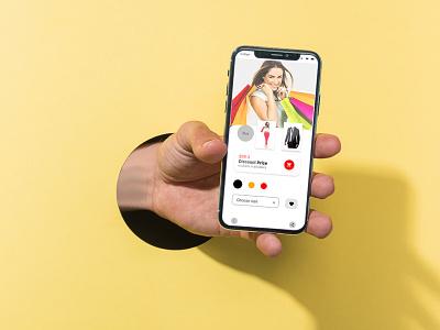 Fashion Store App ui