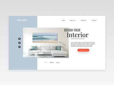 Landing Page UI inspiration webdesign dribbble dailyui uxdesign uiuxdesign web minimal design app ux ui