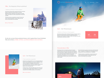 Page Overview – VisitFinland Campaign