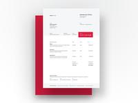 Invoice Template – Personal Branding