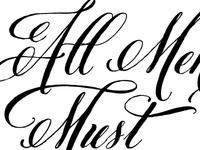 All Men Must Die, Valar Morghulis [WIP]