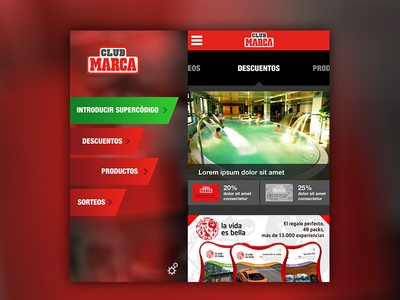 Sidebars and coverpage app screens