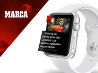 Apple Watch Design Marca — Medios, News, Sport