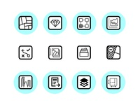 Outline Icons Catastre