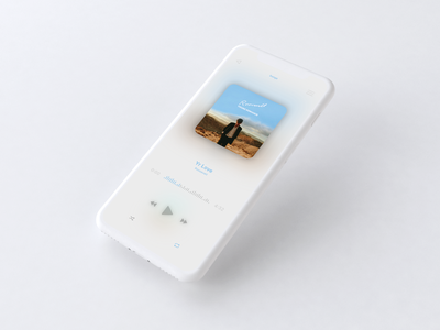 Music App | Daily UI vector music music app ux ui mockup iphone x iphone app flat design app
