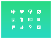 Icons for Minecraft Box Project