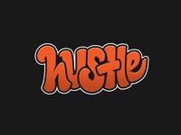 Hustle branding hustle design typography handlettering