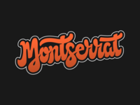 Montserrat vector graphic design type typedesign typography branded lettering goodtypetypeface goodtype montserrat font hand lettering handlettering goodtypetuesday