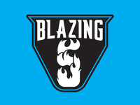 Blazing 5 team logo