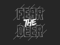2018 Fear The Deer Playoff Giveaway Shirt - Game 6