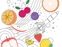 Space of Fruits