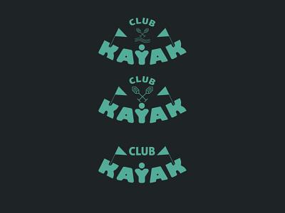 kayak club logo canoe club canoe club logo sports logo indians kayak club lakes sea flat algeria typography icon vector branding logo illustration graphic design design