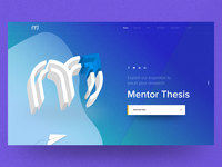 Mentorthesis - Website UX