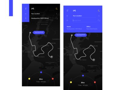 Map Navigation UX Concept